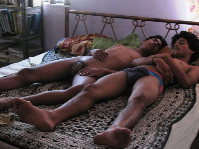 Gay Men Sleeping 103