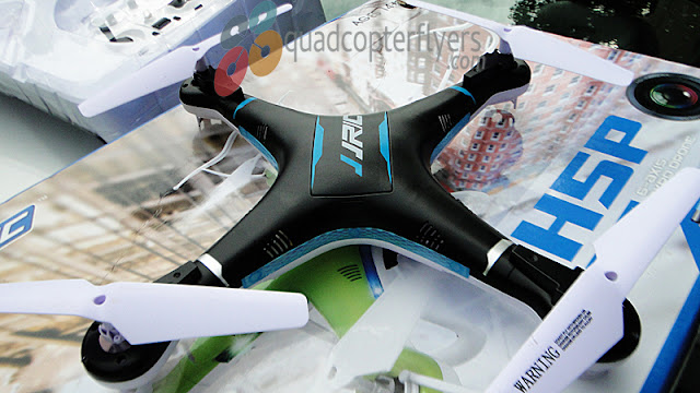 JJRC H5P Quadcopter Top View Unboxing