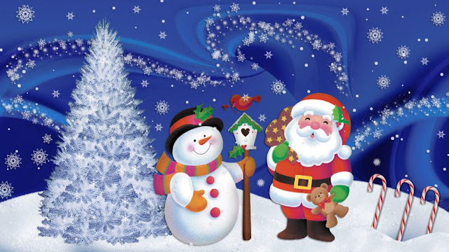 Xmas Santa Claus wallpaper