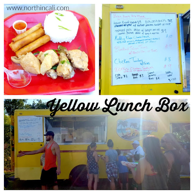 Yellow Lunch Box food truck   Redding, California  www.northincali.com