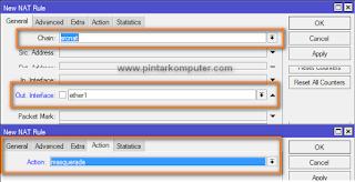 setting firewall dalam cara setting mikrotik sebagai router gateway internet