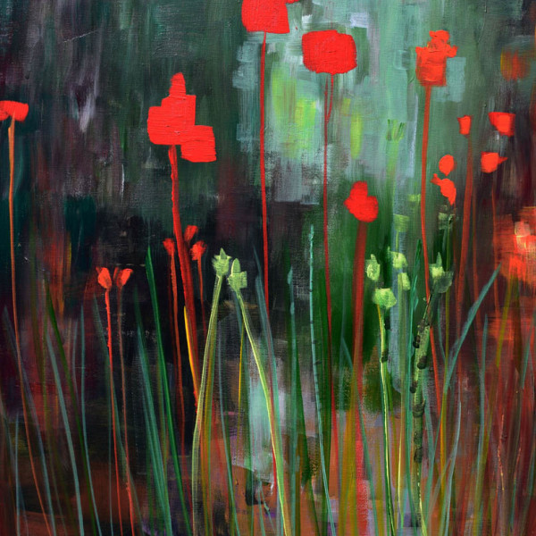 Daily Painters Abstract Gallery Memory Gardens