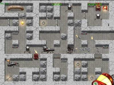 火星炸彈人(Mars Miner),相當不錯的轟炸超人遊戲!