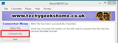 ShoreWAVCon v4.4 Released - Shoretel WAV Converter & Media Player Utility 5