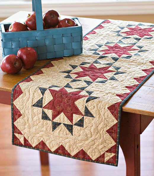 Oh, Glory Table Runner FreePattern