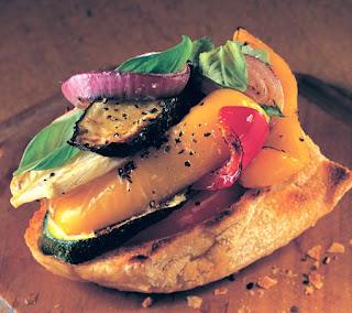 Vegetable Bruschetta Recipe