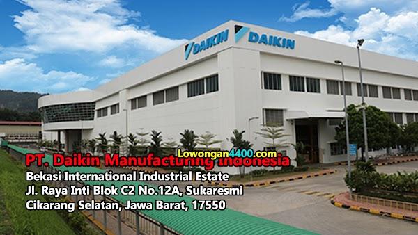 Lowongan Kerja PT. Daikin Manufacturing Indonesia BIIE Cikarang