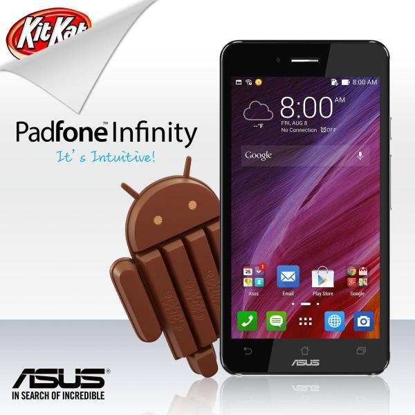 Asus Padfone Infinity receives Android 4.4 KitKat