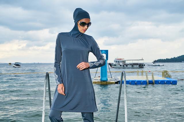 ムスリマ用水着のムスリムファッション