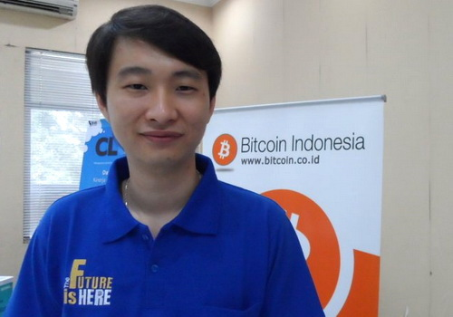 Tinuku Oscar Darmawan founder of Bitcoin Indonesia