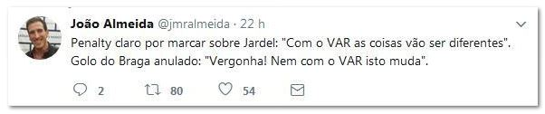 As cambalhotas do VAR