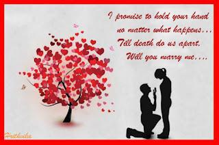 propose day greeting card