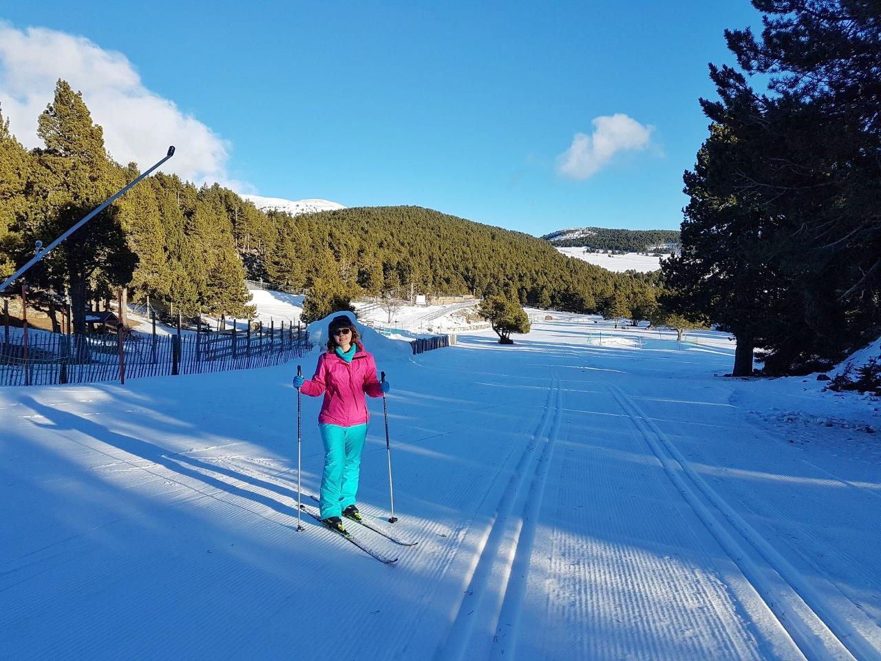 Esqui no Naturlandia, em Andorra.