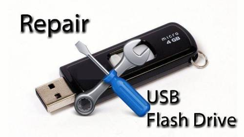 Cara termudah perbaiki Flashdisk rusak atau error tidak terbaca