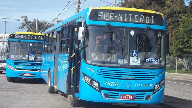 Vereador propõe lei para inibir assalto à ônibus em Maricá