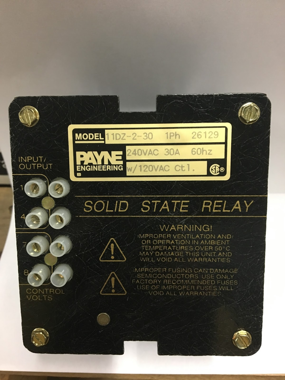 Industrial Electric Switches Solid State Over Stock At Sords Relay Vs Scr Continental Ssr Rva3 6v75t H 75 Amp Three Phase 30 Amps Max Per 120 280 Vac Input 24 660 Output With Din Rail Mount Heat Sink