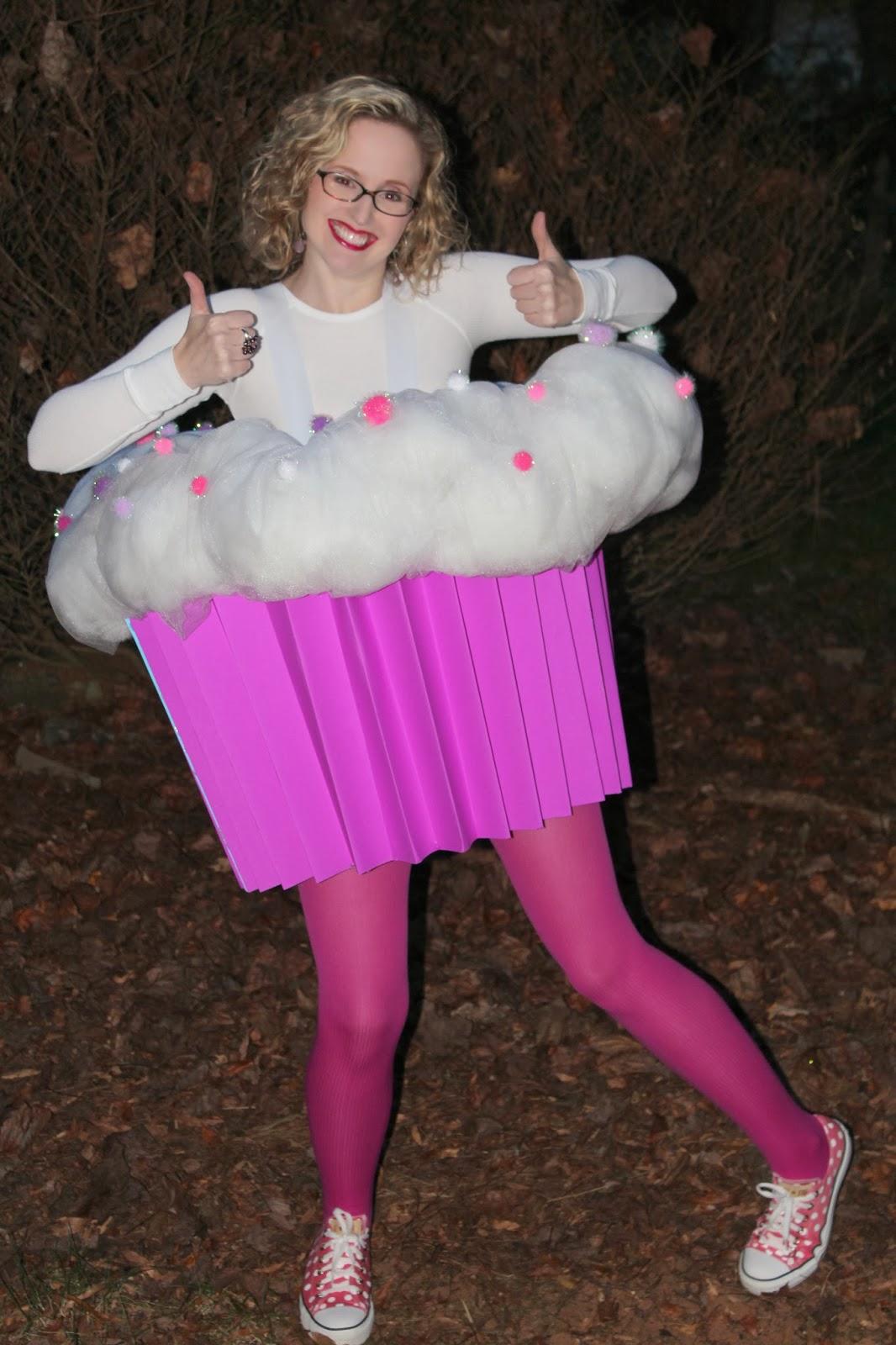 harris sisters girltalk diy cupcake halloween costume