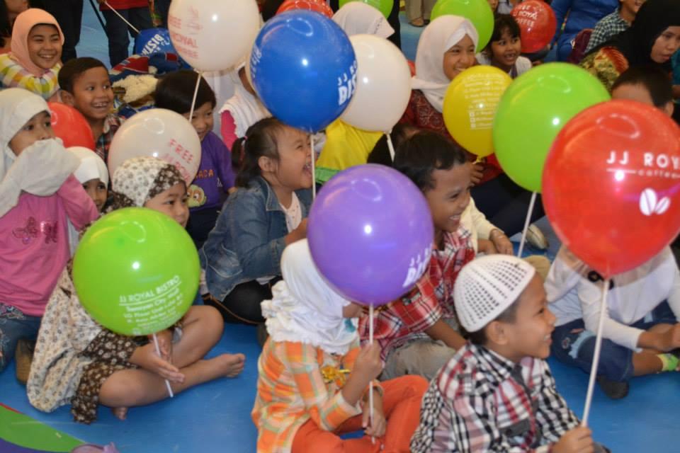Tawa riang anak-anak di SIKIB Expo