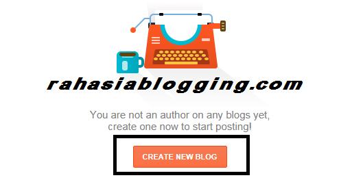 cara buat blog gratis dengan blogspot