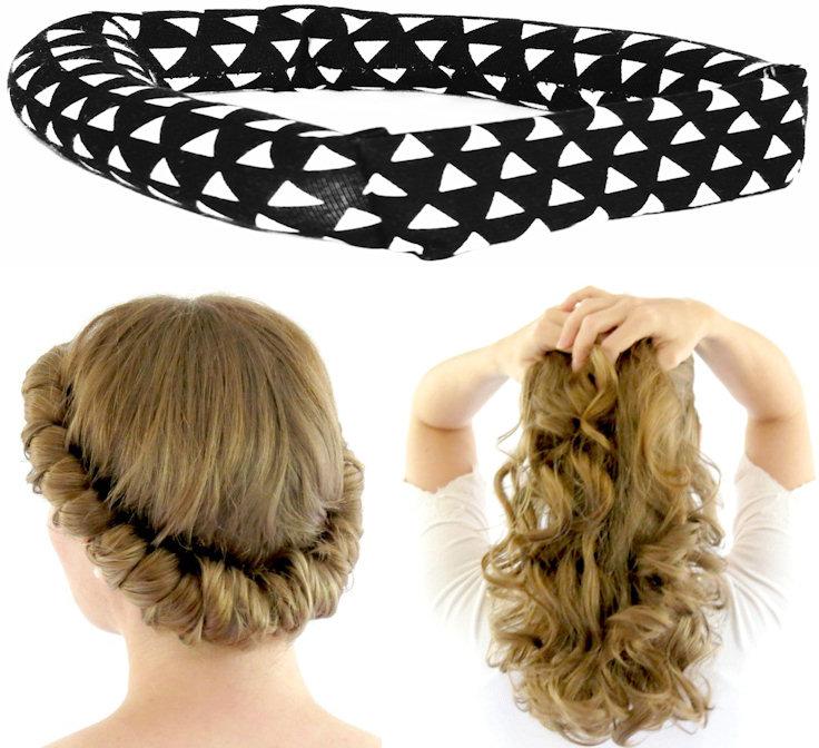 savvy curls no heat headband hair curls