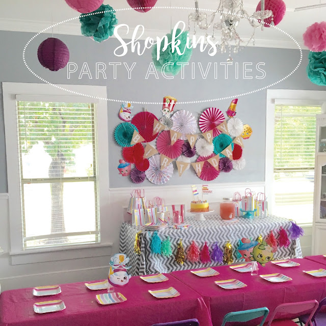 Planning a Shopkins Party? Look no further for awesome party ideas.