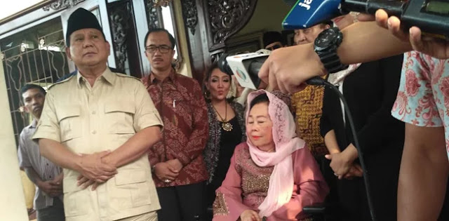 Sinta Nuriyah Wahid: Keluarga Prabowo Sangat Dekat Dengan Keluarga Gus Dur