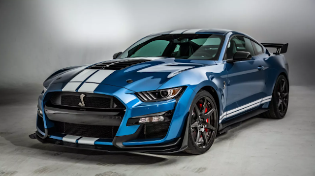 2020 Ford Mustang Shelby GT500 redesign