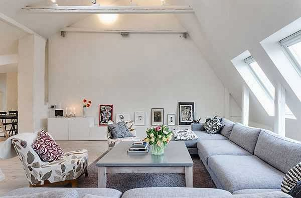 Attic Room Inspiration from a Stockholm Apartment picture