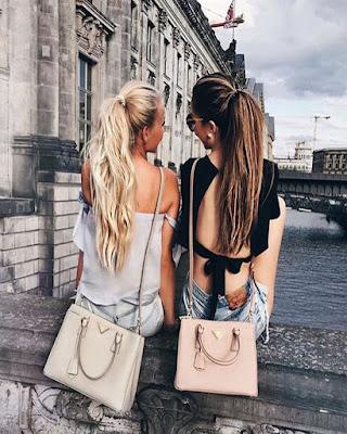 poses de amigas de espaldas tumblr