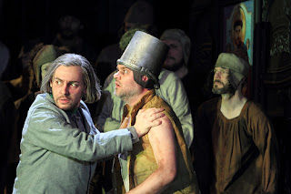 Kostas Smoriginas, Andrew Tortise - Mussorgsky - Boris Godunov - Royal Opera House - photo ROH/Catherine Ashmore