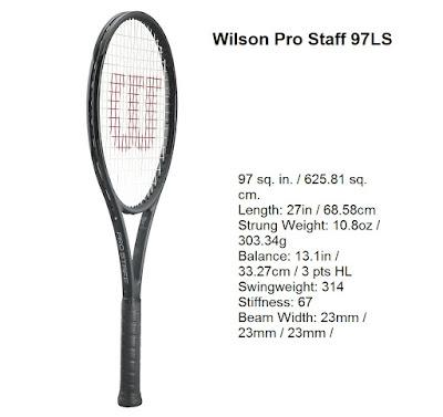 Wilson Pro Staff 97LS tennis racket specs