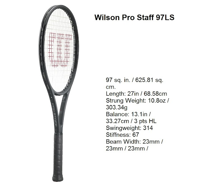 Wilson Pro Staff 97LS - tennis racket specifications