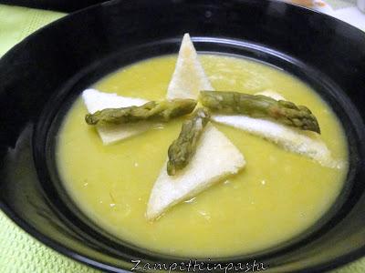 Crema di asparagi - Ricetta con gli asparagi