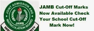 JAMB CUT-OFF POINT 2017/2018