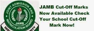 JAMB CUT-OFF POINT 2017/2018