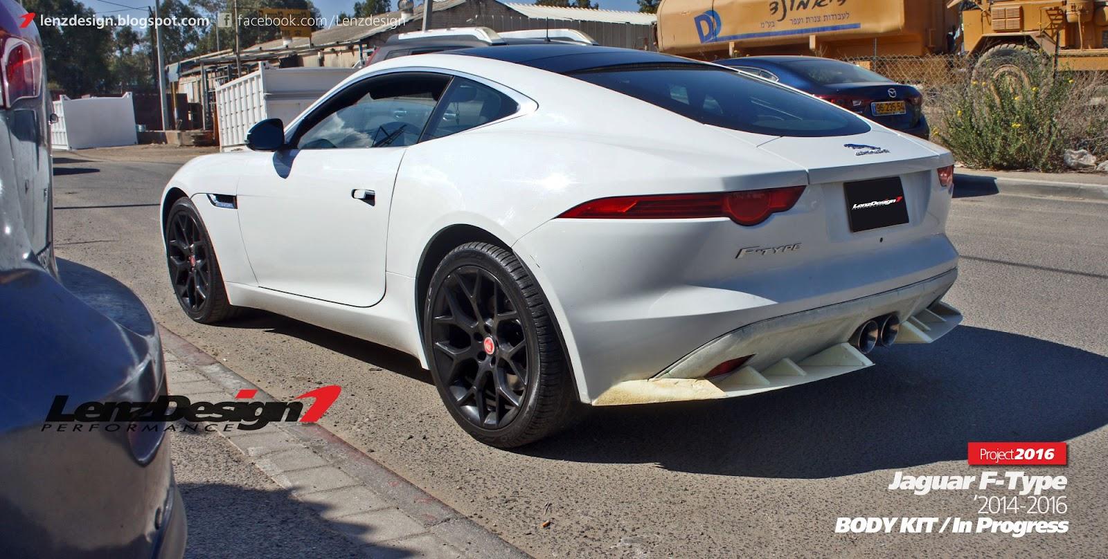 Jaguar F-Type Body Kit Lenzdesign Performance