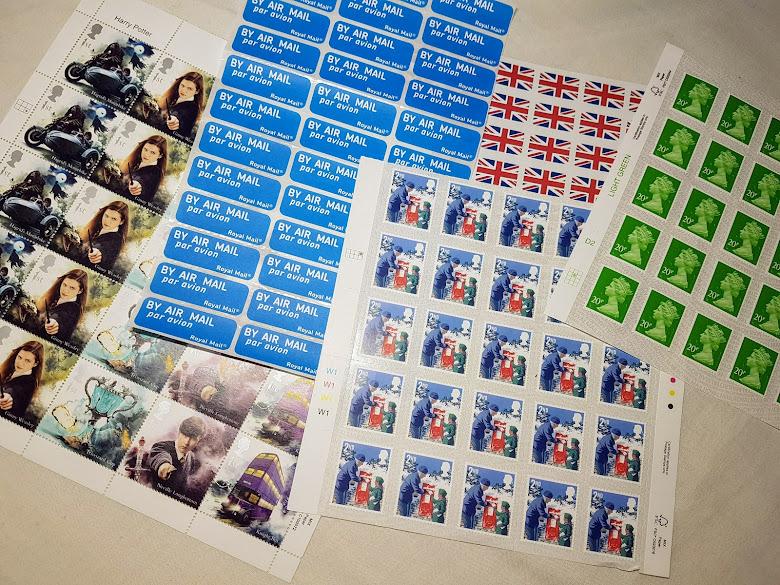 郵票與其他貼紙