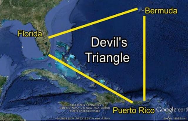 4 Fakta Dibalik Misteri Segitiga Bermuda, yang Terkenal Banyak Kutukan dan Mistis