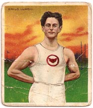 Lunghi spent a year racing in the USA and Canada