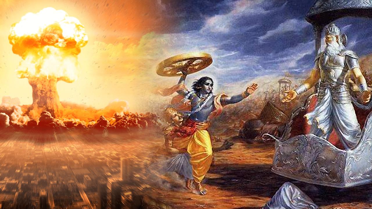 ¿Fue detonada una Bomba Atómica en la India 12.000 años atrás?