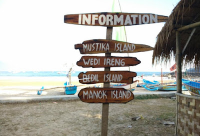 Wisata Pantai Mustika