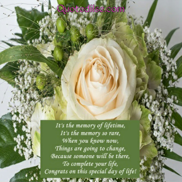 marriage wishing quotes in english