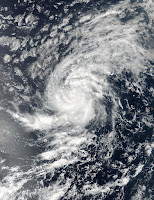 Tropical Storm Irma seen by Suomi NPP satellite