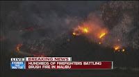 Waldbrände in Malibu