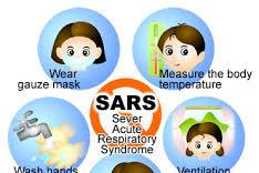 Rangkaian pemeriksaan Severe Acute Respiratory Syndrome (SARS) lebih dini