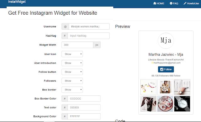 jak dodać instagrama na bloga