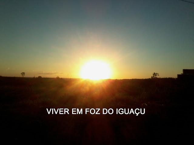 Tempo e temperatura em Foz do Iguaçu: o sol se esvai e a temperatura deve cair para 5°C nesta última semana de abril de 2016