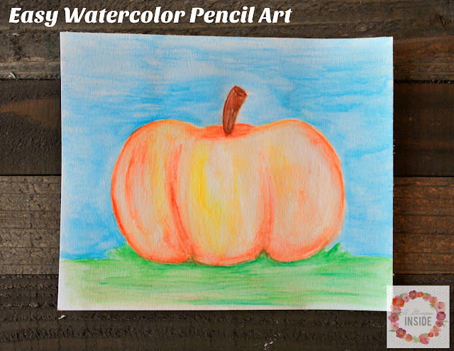 http://www.aglimpseinsideblog.com/2016/09/craft-with-me-easy-watercolor-pencil-art.html
