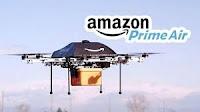 Amazon Prime Air: gestione consegne con droni