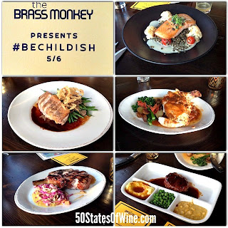 #BeChildish Dinner at The Brass Monkey Brasserie